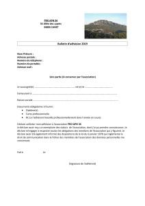 Bulletin Adhesion PRO APN 34